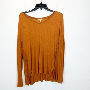 Bordeaux  Top |  Anthro Brand | Size  L